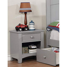 Fello 1 Drawer Nightstand in Gray