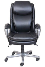 Layers AIR Arlington Executive Chair, Black/Pewter