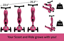 Scoot and Ride 2-in-1 Bike and Kick Scooter Combo for Children Ages 1-5 Years Old