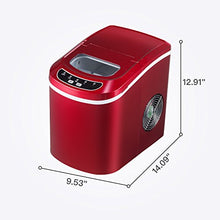 Portable Ice Maker Countertop with 26lbs Daily Capacity, 9 Ice Cubes Ready in 8 Minutes,Ice Cube Maker Machine