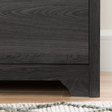 5-Drawer Chest, Gray Oak