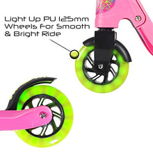Flybar Aero Micro Kick Scooter for Kids, Pro Design with 2 Light Up LED Wheels, Adjustable Handles