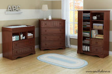 One Door Armoire with Adjustable Shelves and Storage Drawers, Espresso