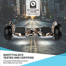 HYPER GOGO Hoverboards,Off Road Hover Board,Electric Self Balancing All Terrain Hoverboard with Built-in Speaker and LED Lights - UL2272 Certified