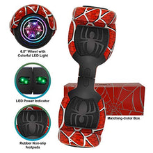 "6.5"" inch Bluetooth Spider Edition Hoverboard Self Balancing Scooter w/Colorful LED Wheels & Lights"