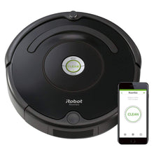Roomba 671 Robot Vacuum with Wi-Fi Connectivity, Works with Alexa, Good for Pet Hair, Carpets, and Hard Floors, Clear