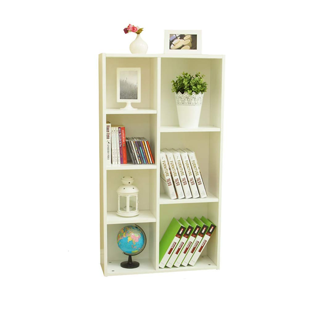 Exquisite Bookcase Simple Bookcase,Floor-Standing Easy Assembly Storage Cabinet Modern Multipurpose Open Shelf Display Rack for Home,Office