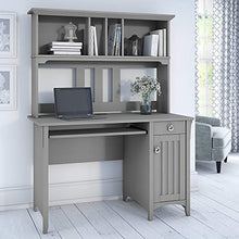 Salinas Mission Desk and Hutch in Antique White