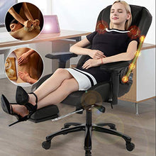 High Back Office  Chair Desk PU Leather Computer Chair Task Rolling Swivel Adjustable Stool Executive Chair with Lumbar Support Armrest for Women&Men