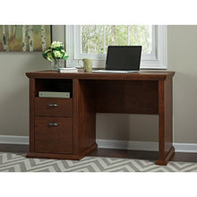 Yorktown Home Office Desk in Antique Cherry