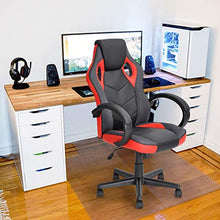 Computer Game Chair Gaming Racing Chair PU Leather High Back Office Desk Chair Executive Swivel Task Chair