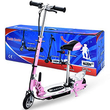 Overwhelming Adjustable Handlebar and Seat Folding Electric Scooter for Kids,177lbs Max Weight Capacity Motorized Bike with Removable Seat