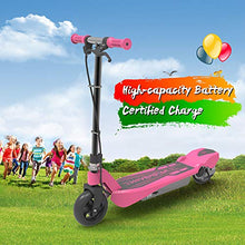 Electric Kick Start Scooter for Kids