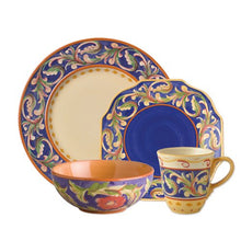 Della Luna Blue Dinnerware Set (16 Piece)