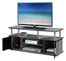 Television Stand, Weathered Gray