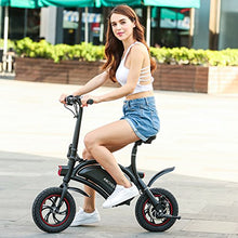 Folding Electric Bicycle/E-Bike/Scooter 350W Ebike with 12 Mile Range, APP Speed Setting