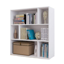 European Style Three-Story Six-Story Cabinet Storage Cabinet, White