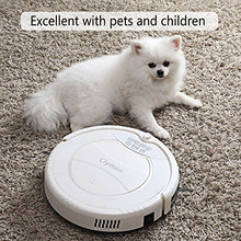 Q7 Robot Vacuum Cleaner, Self-Charging Robotic Vacuum,Suitable for Tiles and Hard Floors, Quiet, Powerful Suction on Thin Carpet