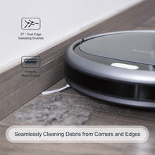 Robot Vacuum Cleaner, 1400Pa Super-Strong Suction, Ultra Slim, Automatic Self-Charging,Easy Cleaning,for Hardwood Floors, Carpets