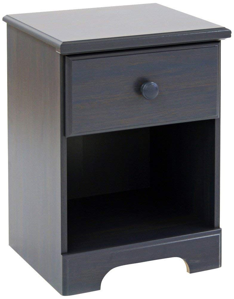 Summer Breeze Collection Nightstand - Blueberry