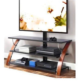 3-in-1 Flat Panel TV Stand for TVs up to 65