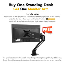 "Standing Desk - 47"" Wide Platform Stand Up Desk Riser with Quick Release Keyboard Tray (L-Size-Black)"