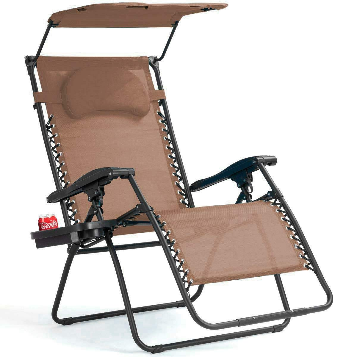 Excellent Adjustable Folding Shade Canopy Relax Poolside Beach Lounge Machost Co Dining Chair Design Ideas Machostcouk
