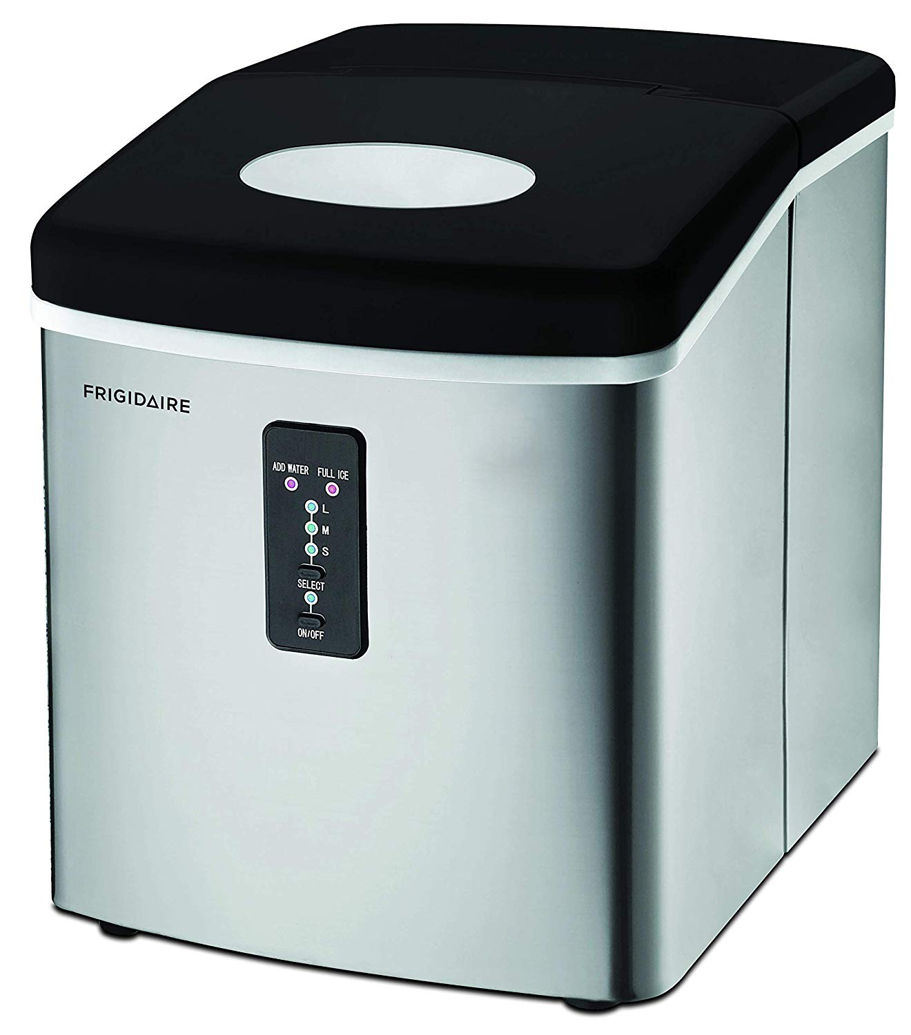 EFIC103 Ice Maker Machine Heavy Duty, Large Stainless Steel