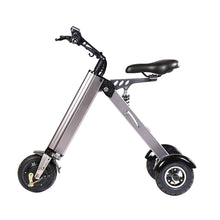 Electric Scooter Mini Foldable Tricycle Weight 14KG with 3 Gears Speed Limit and 3 Shock Absorbers ,Suitable for People Over 50 Age On Trip