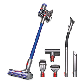 V7 Animal Pro+ Cordless Vacuum Cleaner - Extra Tools for Homes with Pets, HEPA Filter, Rechargeable, Lightweight, Powerful Suction, Blue