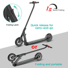 "Foldable Lightweight Electric Scooter, 8"" Airless Foam Filled Tires, Lightweight Folding Adult Electric Scooter for Commutinglectric Scooter"