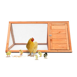 Wooden Chicken Coop Bunny Rabbit Hutch Pet Cage Small Animal Poultry Cage Run