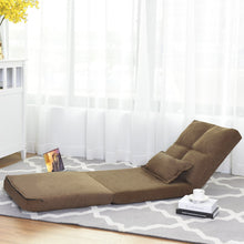 Fold Down Sofa Bed with Pillow Foam ,Convertible Upholstered Memory Foam Padded Cushion Guest Sleeper Chair