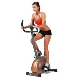 Upright Exercise Bike with Resistance ME-708