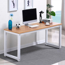 Simple Computer Desk, PC Laptop Writing Study Table, Gaming ...