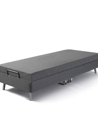 Camande Memory Foam Resort Folding Guest Bed with Wheels, Standard Twin
