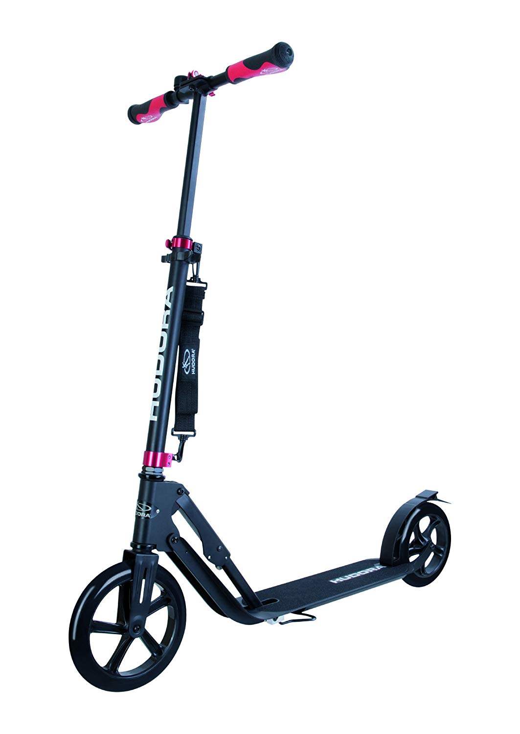 HUDORA 230 Adult Scooters Foldable Adjustable Kick Scooter Aluminum Outdoor use