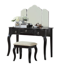 F4193 PDEX-F4193 Vanity Table with Stool Set, Cherry