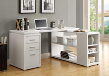 Hollow-Core Left or Right Facing Corner Desk, White