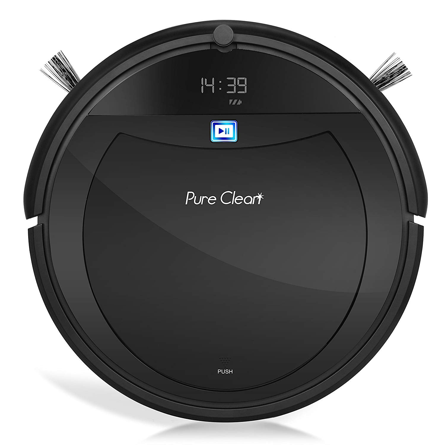Automatic Programmable Robot Vacuum Cleaner - Scheduled Activation Auto Charge Dock,HEPA Pet Hair and Allergies Friendly