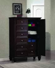 Man's Chest with Concealed Storage Black