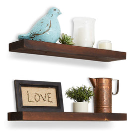 Wood Floating Shelves - 24