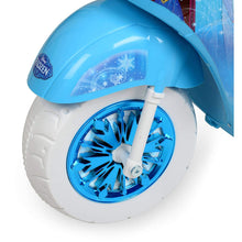 Frozen 3 Wheel Electric Power Ride on Scooter