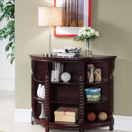 Wood Entryway Buffet Console Sofa Table, Cherry