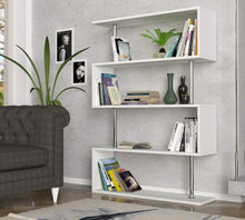 Sunrise 3' x 4' Bookcase, White
