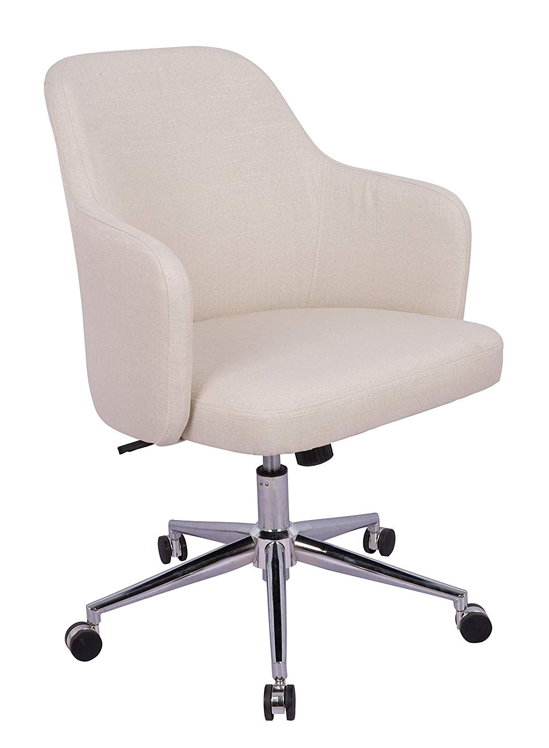 Classic Adjustable Office Chair - Twill Fabric, Navy