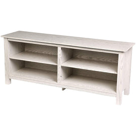 Wood TV Stand Storage Console, 58