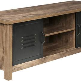 3-Drawer Locker Writing Desk, Oak