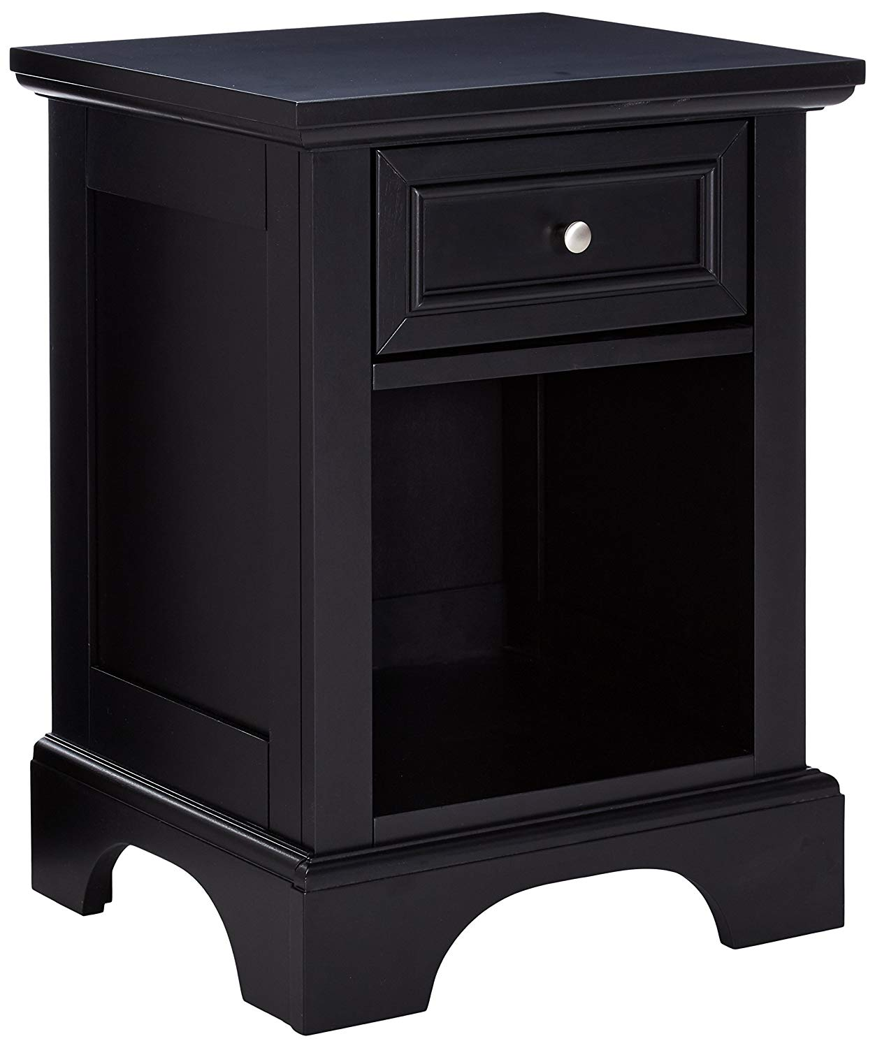 Black Night Stand by Home Styles
