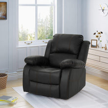 Lilith Gliding Swivel Recliner, Black